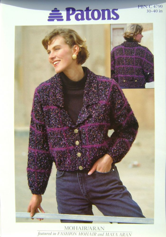 Patons Knitting Pattern 4790